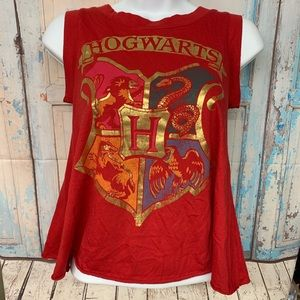 Hogwarts Red Open Backed Sz XS tank top